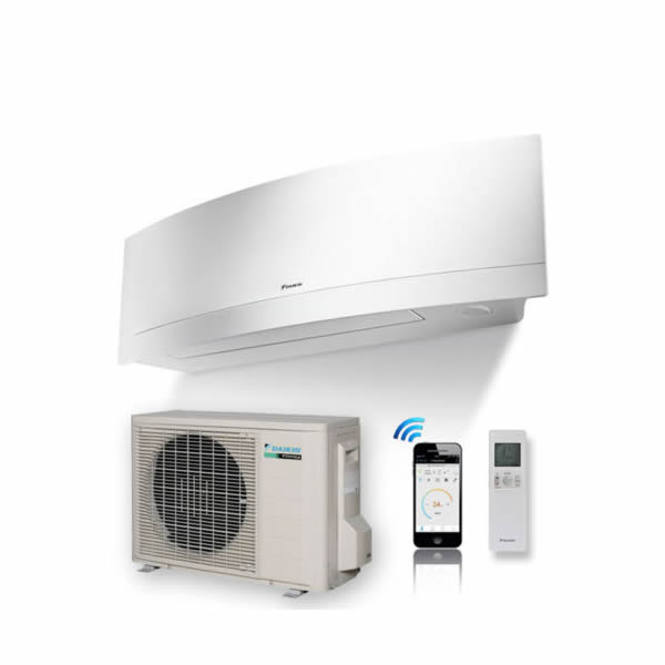 APARAT DE AER CONDITIONAT DAIKIN Emura R-32 Bluevolution - FTXJ50MW RXJ50M Inverter 18.000 BTU